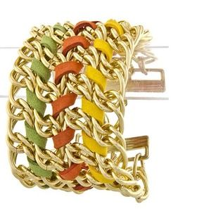 321816 Jewelry - Multicolor Chain Bracelet