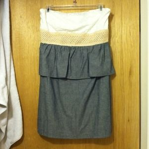 Dresses & Skirts - Adorable strapless dress new with tag