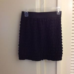 Dresses & Skirts - Black tiered skirt!