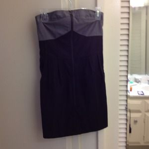 Dresses & Skirts - Black and grey strapless dress