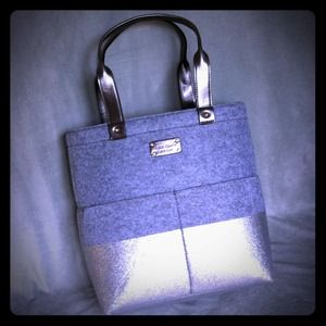 kate spade Handbags - Reserved @misslaura70 Kate Spade frosted felt Tote