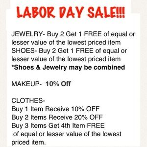 Dior Accessories - PLEASE SHARE 😁Discounts and Deals for LABOR DAY!!