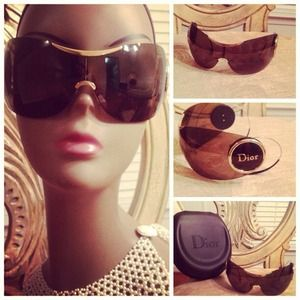 Dior Accessories - Christian Dior Wrap Around Sunglasses.