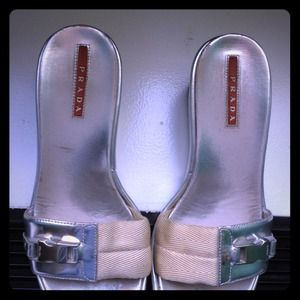 Prada Shoes - JUST REDUCED -FOR AUTHENTIC PRADA WEDGES