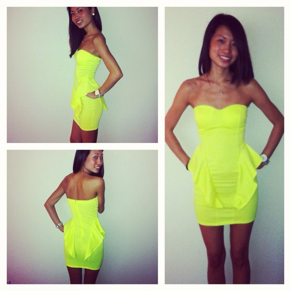 Neon Mini Dress