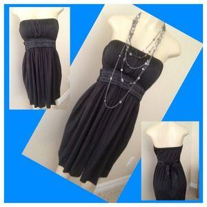 Dresses & Skirts - Adorable Strapless Little Black Dress