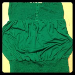 wildcat Tops - Green tube top