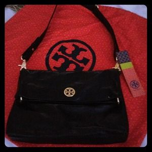 Tory Burch Handbags - SOLD- Tory Burch Dena Messenger