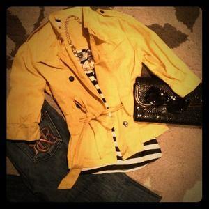 Jackets & Blazers - Mustard jacket