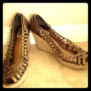 Steve Madden Shoes - RESERVED!!!!Steve Madden wedge BUNDLE***