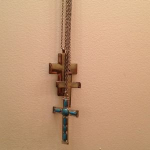 Jewelry - Bundle! Cross necklaces