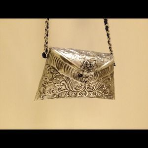 Clutches & Wallets - NEW Zara metal purse!