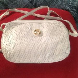 Handbags - White Bally Italian shoulder bag