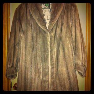 Outerwear - Mink coat