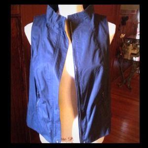 Liz Claiborne Jackets & Blazers - SOLD New With Tags Navy Vest