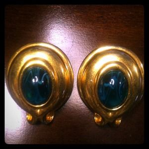 Fendi vintage earrings.