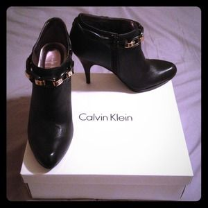 Sexy booties by Calvin Klein