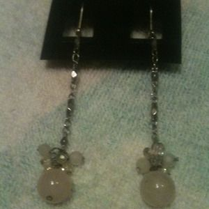 Jewelry - Pink orb dangle earrings