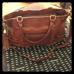 Rebecca Minkoff Handbags - SOLD- NEW REBECCA MINKOFF- gorgeous brown!!