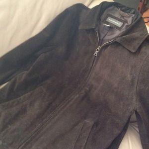 ✂Price Cut✂Banana Republic Brown Suede Jacket