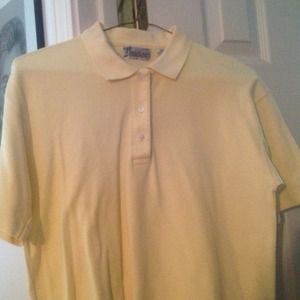 Tops - Yellow polo style shirt
