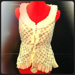 Gorgeous Anthropologie Blouse