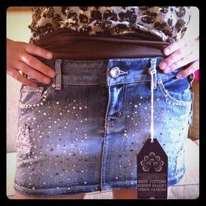 Bling mini skirt!!!