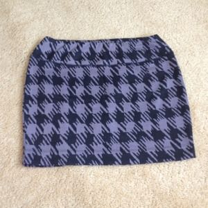 Dresses & Skirts - Purple-gray and black checkered skirt