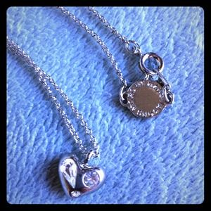 Marc by Marc Jacobs Jewelry - Hold - @gretchapr MBMJ Dexter Glitz Heart Necklace