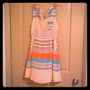 mine Dresses & Skirts - Bundle for shoesfordayz stripe dress and flats