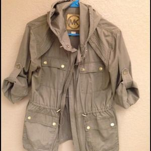 Michael Kors military jacket