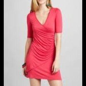Patrizia Luca Dresses - Patrizia Luca half sleeve v-neck dress in  blue