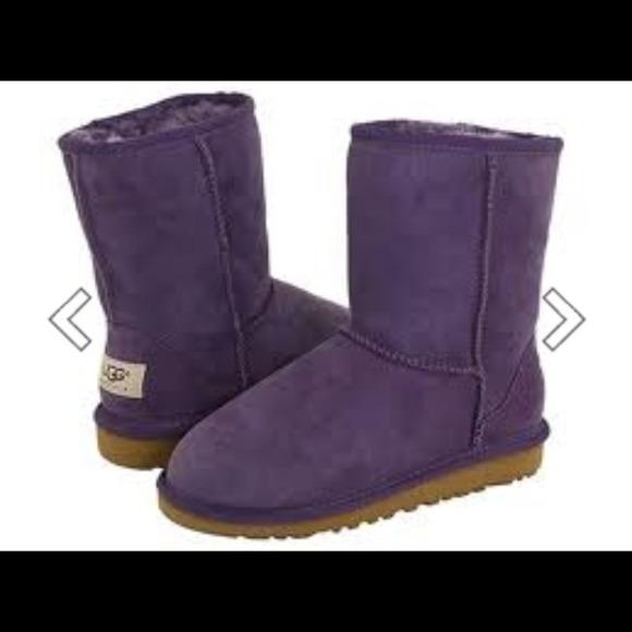 3fc639272e5 Purple uggs