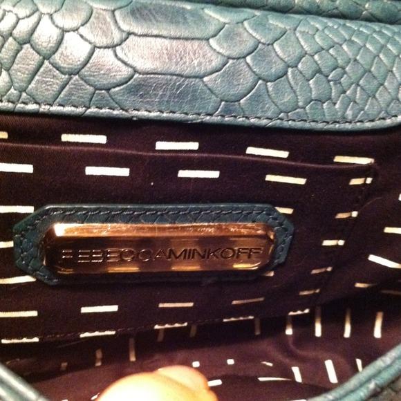 Rebecca Minkoff Bags - Rebecca Minkoff Snakeskin Leather Bag