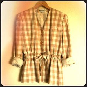 Last day-Authentic Vintage Dior jacket
