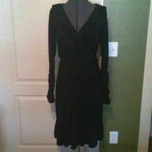 Dresses & Skirts - Black Dress with ruffles for @normlyn