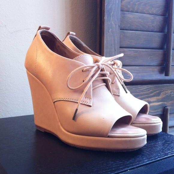 rag & bone Shoes - Rag & Bone Oxford Wedge, sz 7/37 2