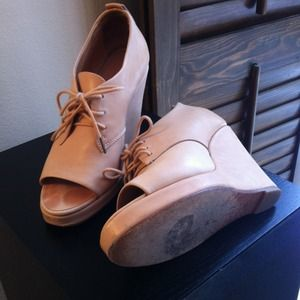 rag & bone Shoes - Rag & Bone Oxford Wedge, sz 7/37