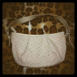 Handbags - Cream hand purse