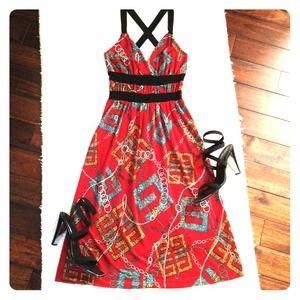 Dresses & Skirts - WINK red boutique dress