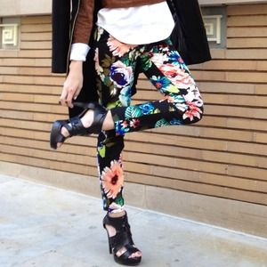 H&M Pants - Floral pants *SOLD* bundle
