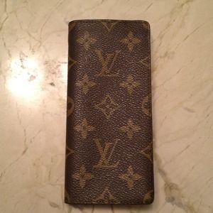 Louis Vuitton eyeglass sleeve