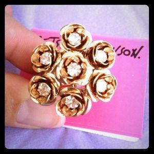 Betsey Johnson Jewelry - Final reduction 💍 Shine bright like a diamond 💎