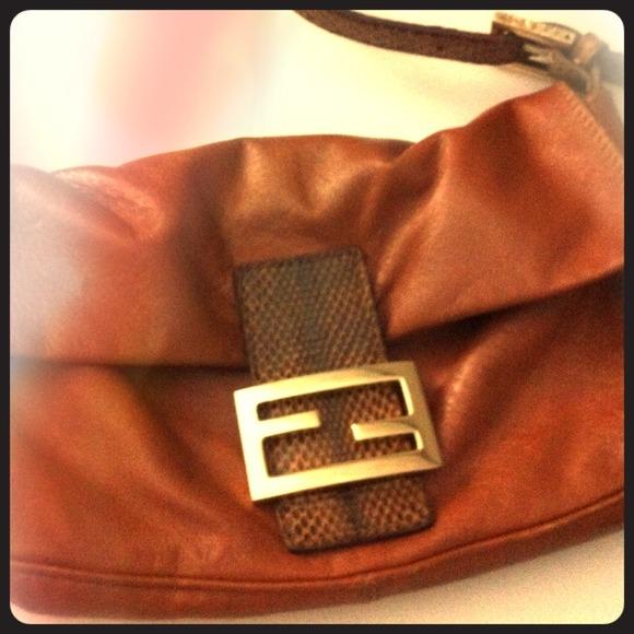 02f0aa79f725 FENDI Handbags - Authentic Fendi Baguette handbag