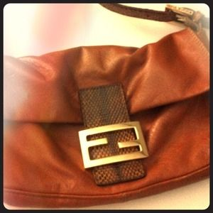 FENDI Handbags - Authentic Fendi Baguette handbag