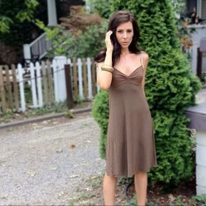 *SOLD* Brown Theory Dress