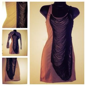 Dresses & Skirts - ✅Sale New fringed detail body conscious dress