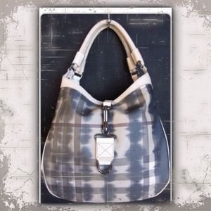 Burberry Handbags - NEW Burberry Smoked Check Tie Dye Tote Trench