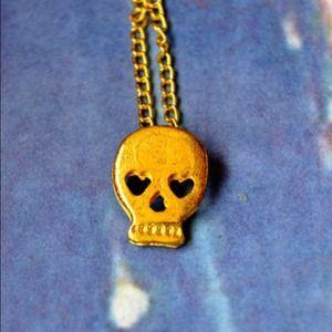Jewelry - Forbidden Skull Necklace