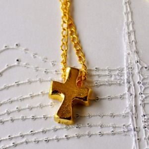 Jewelry - My Golden Cross Necklace